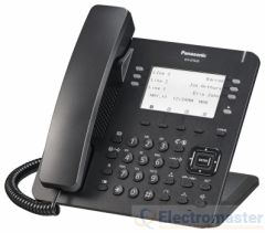 KX-DT635UK-B Self Labelling Digital Phone Black