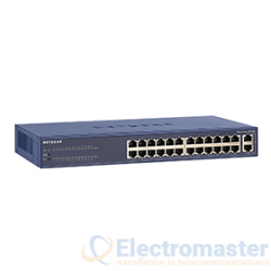 Netgear FS526T 24 Port Smart Switch
