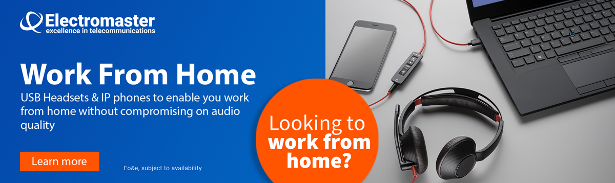 Work From Home Headsets - Electromaster