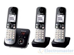 Panasonic KX-TG6823EB Triple Dect c/w TAM & Speakerphone