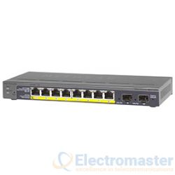 Netgear NETGS110TP 8 Port Gigabit POE Switch with 2 SFP ports